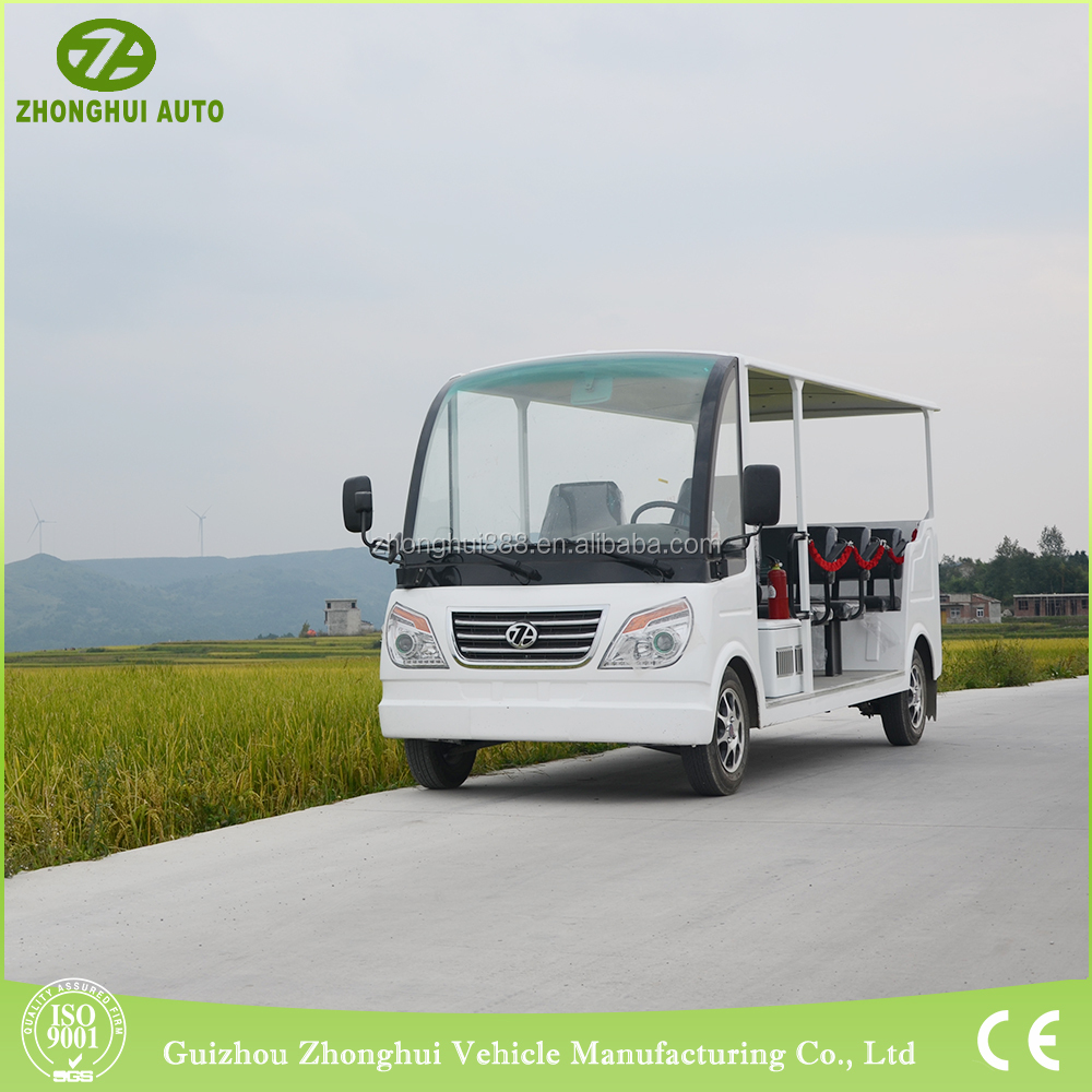 Classical car for vintage designed electrical bus