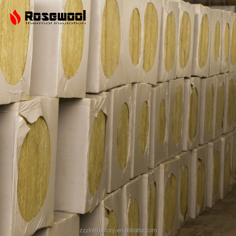 JINDING Fiber glass wool insulation,rock wool board, mineral wool