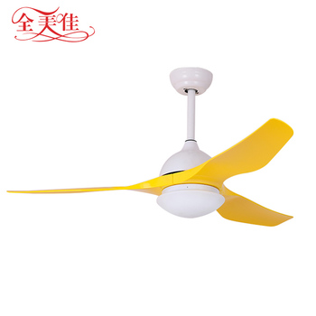 "Zhongshan manufacturer 52 ""LED lamp reverse ceiling fan with remote control"