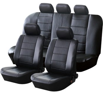 Fabric leather car seat cover universal for Sedan