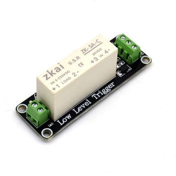 1-channel 24v Low-level Trigger Solid-state Relay Module Dc-dc Load 5a  Switch Control Board - Buy 1-channel 24v Relay,Relay Module,Dc-dc Load 5a