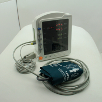 First-aid devices type patient monitor CMS5100 contec 3 parameter etco2 ambulance patient monitor