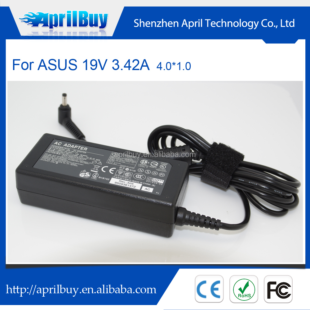 New Laptop Adapter For Asus 19V 3.42A 4.0*1.35mm Zenbook UX303LB UX303UA UX303UB Charger