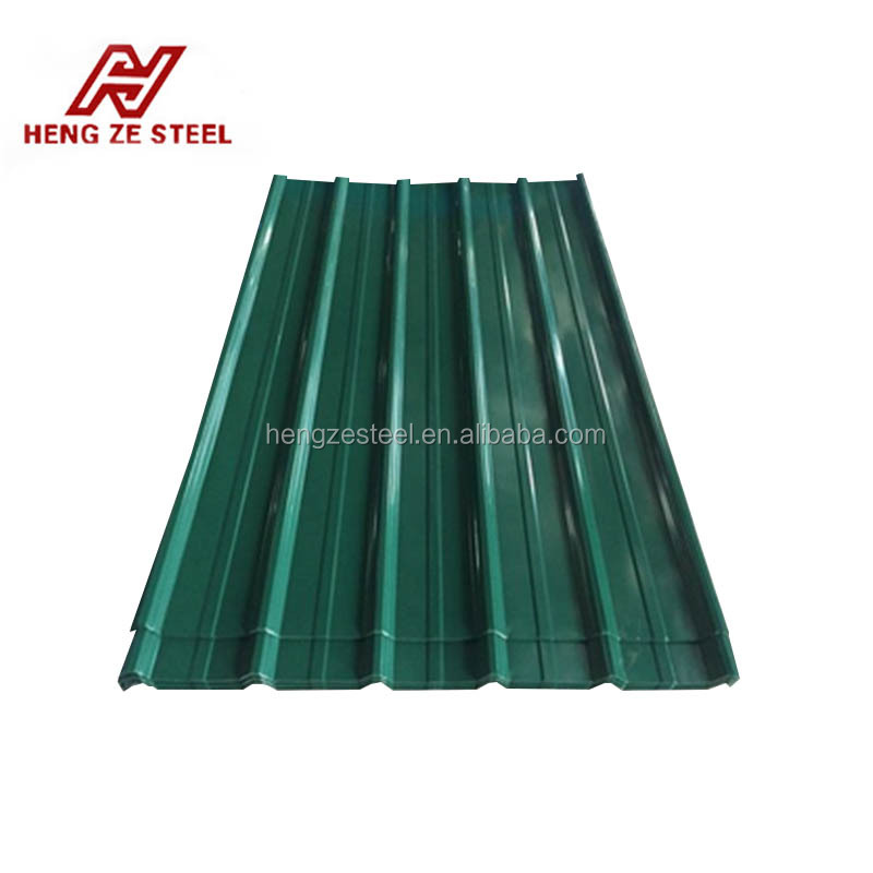 various zinc rate high strength prepainted zinc corrugated roofing sheet / steel arch roof