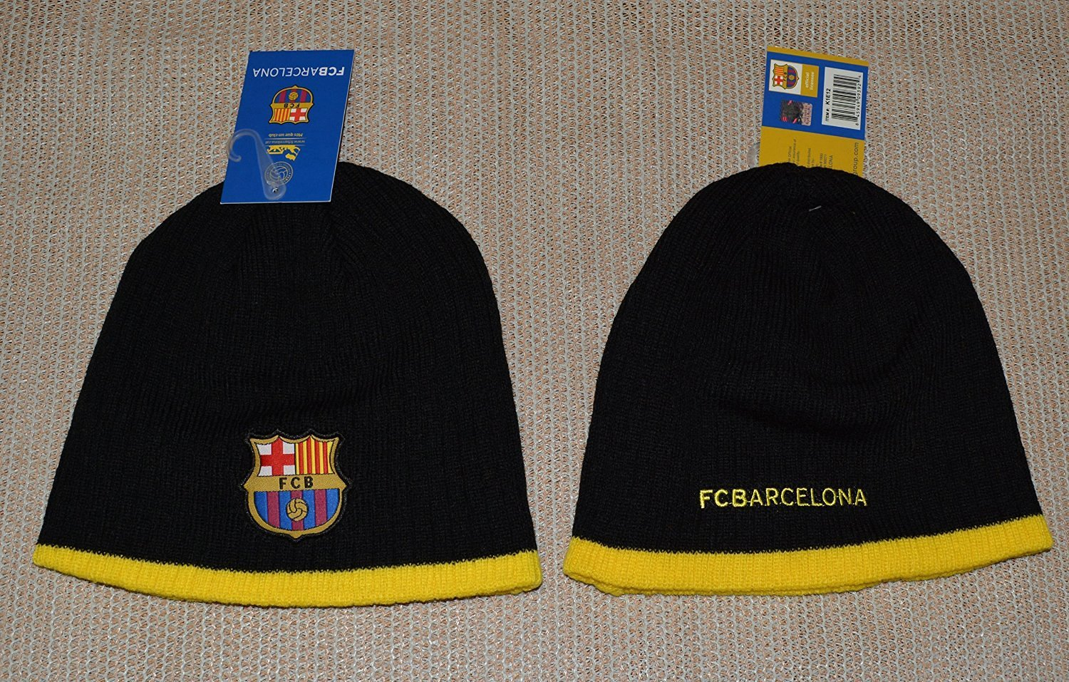 64f7ecdfa8a Fc Barcelona Beanie Soccer New ! 2014-2015 Official Skull Cap Hat Winter  Authentic (