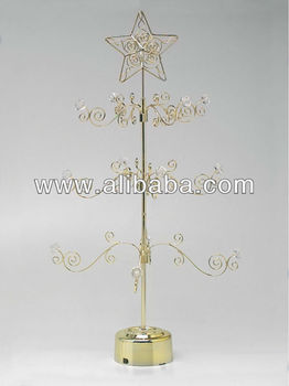 ornament tree stand christmas metal wire ornament display tree stand 24 inch - Metal Christmas Tree Ornament Display