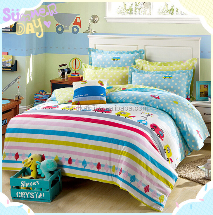 Microfiber polyester printed handmade embroidery queen king size comforter set/ bedding set made in india