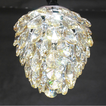 Discount Italian Modern Pine Nuts Shape Crystal Light Fixture - Italian light fixtures