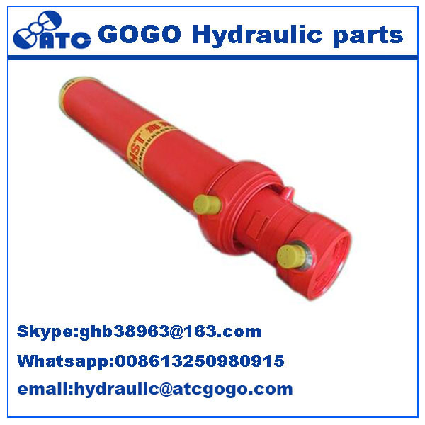 tractor DF304 use front rear loader use hydraulic cylinder