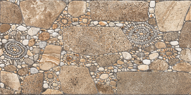 300*600 Interior Rustic Ceramic Floor Tiles Standard Size Tile