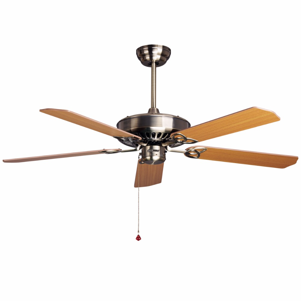 Compra ventiladores de techo de bronce online al por mayor