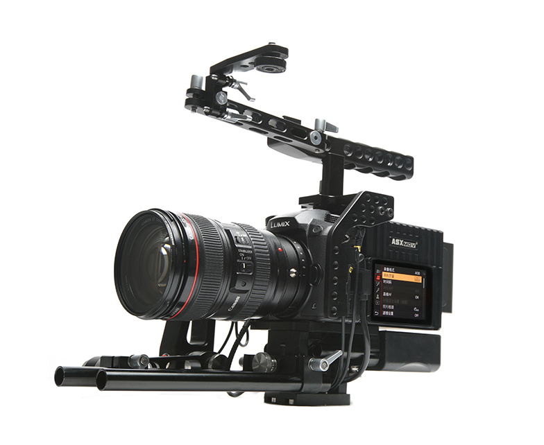 ASXMOV shoulder mount support a7s2 dslr rig kit