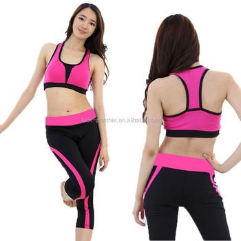 f9f4c72ec62acc Aerobic sportswear supplex leggings ladies fitness fitness explosivity
