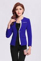Best Price Women Uniform Suit Elegant Office Lady Pant Suit for Sale