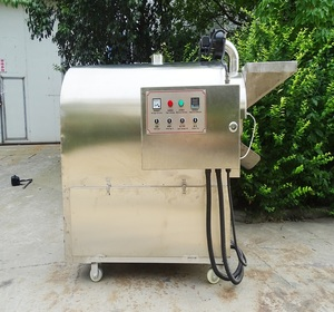LQ150X electric roaster machine for peanut/sunflower seeds/sesame/soybean/chestnut roaster