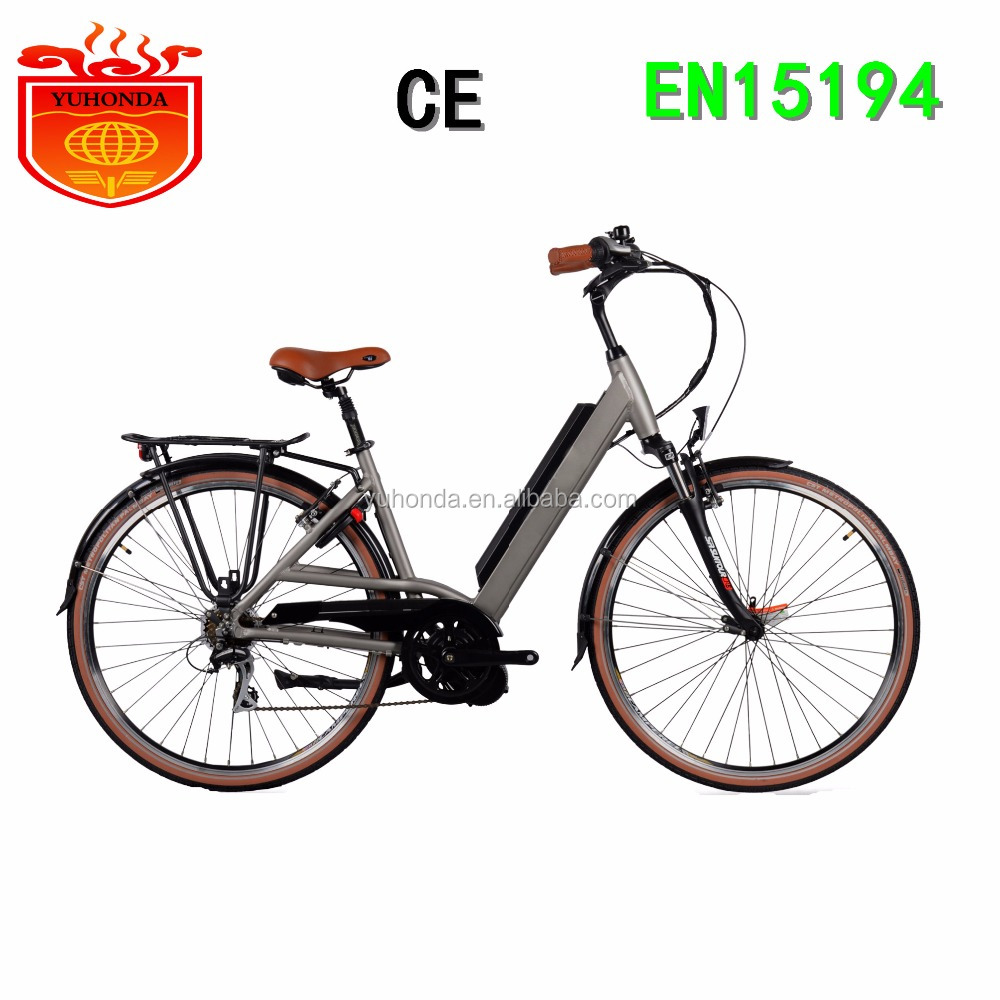2018 New 36V Battery Powered Electric Bike Electric Bicycle with mid motor 250W Urban Lady with CE and EN15194 Approvaled