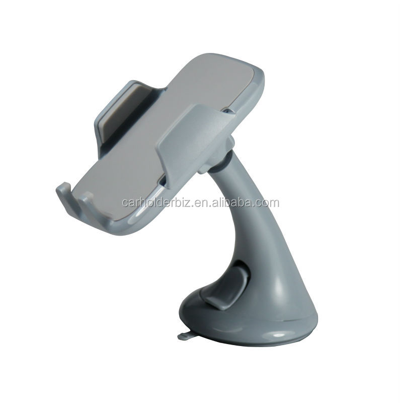 Car Windshield Mount PDA/Mobile Phone Holder, Made of Reliable Nylon Material Suction Cup Mount
