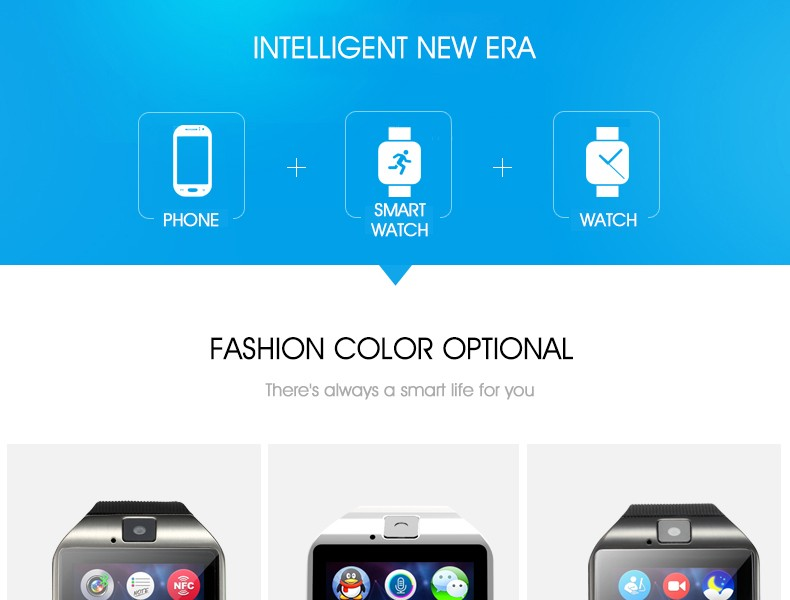 cheap and wholesale price Touch Screen android Q18 Smart Watch sim card