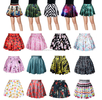 9231723294c Cheap Plus Size Velvet Skater Skirt
