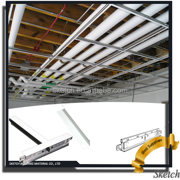 False ceiling Suspended T Grid ceiling system