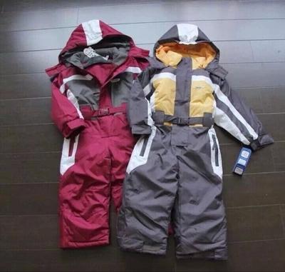 winter Rompers kids clothing boy outdoor waterproof coat small children ski suit girls overall windproof jumpsuit