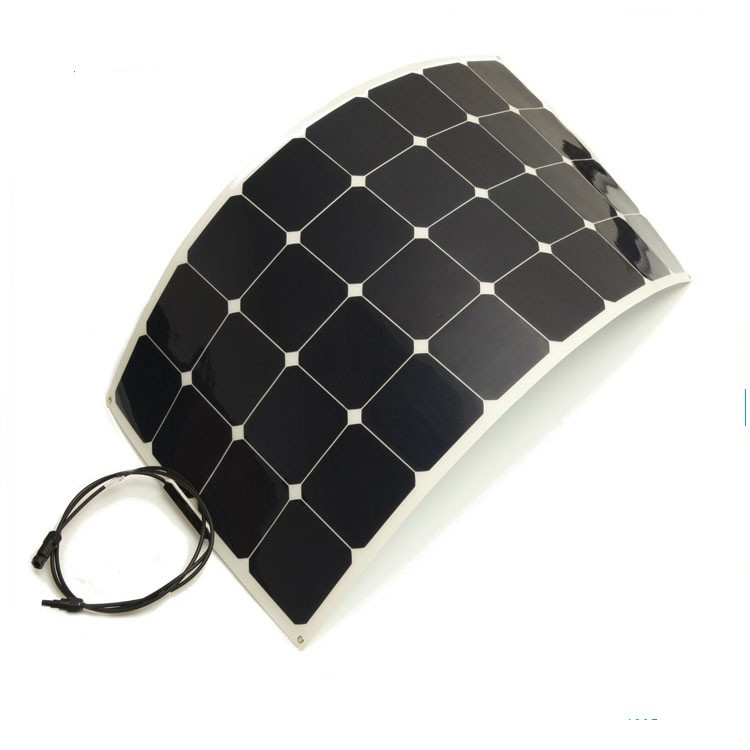 THS high quality sunpower cells material 100W flexible solar panel