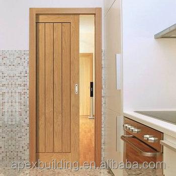 Oak Engineered Doors Solid Modern Natural Design Sliding
