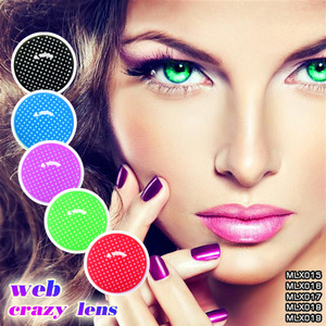 Full Black Out Crazy cheap sclera Contact Lenses from China Wholesale
