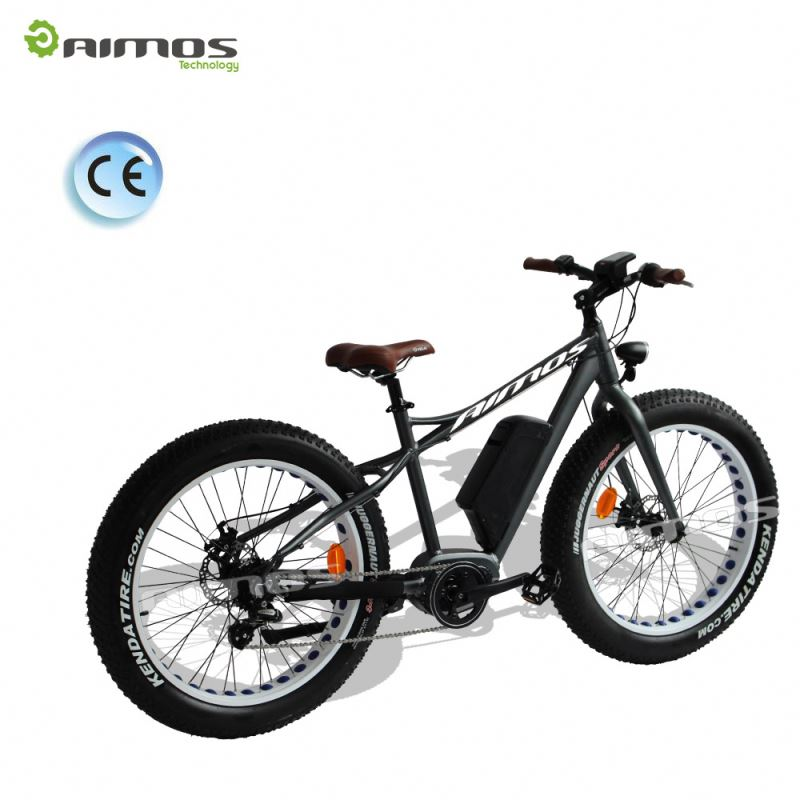 2016 Most Popular 36v 500w electric bike mid motor 26inch electric mountain bike e bicycle