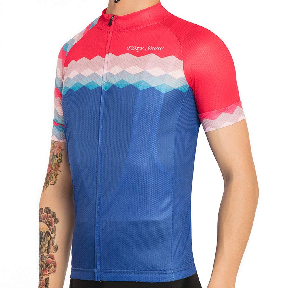 Cycling Jersey Bicycle Clothing Summer Team Racing Short Sleeve Bike Shirts