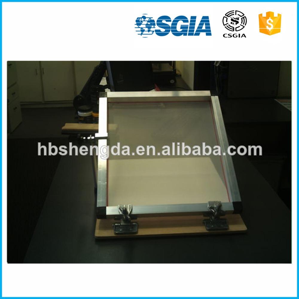 Bisagra abrazaderas para serigrafía marco de aluminio proveedor/al ...