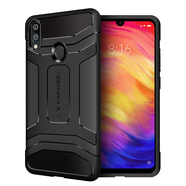 KAPAVER High Shockproof Full Cover Phone Case For Xiaomi Redmi Note 7,note 7 Pro фото
