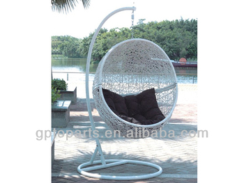 Schommelstoel Op Balkon : Ei schommelstoel opknoping stoel tuinmeubilair swing opknoping