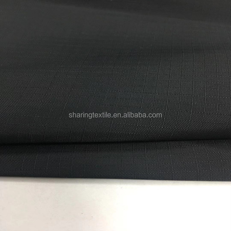 70D Ripstop Recycled Nylon Taffeta Fabric 3MM/100%Recycle Eco-friendly RPET Nylon Fabric Jacket Lining Fabric