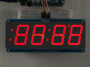 1 2 Inch Large Screen 4 Digital Led Display Clock - Buy Led Digital  Clock,Large Led Digital Wall Clock,4 Digital Led Display Clock Product on