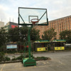 Shatterproof steel stand up basketball hoops system professional