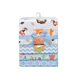 Wholesale toddlers blanket wrap cotton newborn receiving blanket baby flannel swaddle blankets