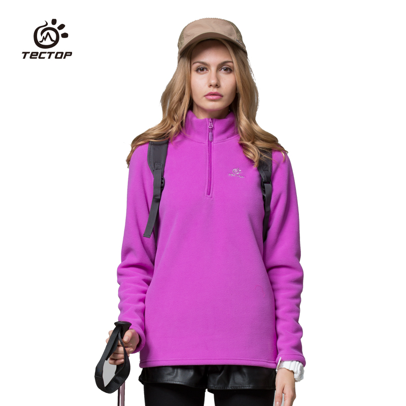 NEW brand casual Outdoor sport running polar fleece Sweaters windproof thermal pullovers winter female womens woman mzry034