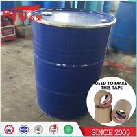 Hongsu high quality water base white liquid acrylic glue adhesive for BOPP Jumbo Roll