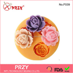 edible sugar flower cake decorations