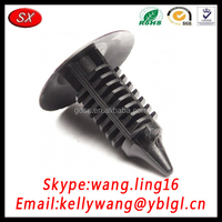 China Golden Supplier Nylon Black Self Tapping Rivet, Plastic Blind Rivet, Screw Rivet With Round Head