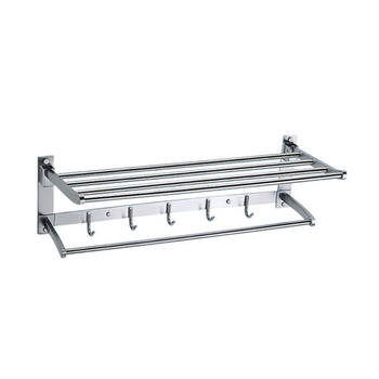 304 light S/S rolled bathhotel towel rack