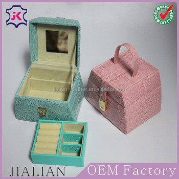 High End Jewelry Box Making SuppliesStand Up Jewelry Box With Lock