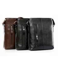 Fashion style new design leather bag 2016 men handbag