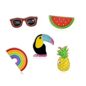 Sunglass Pineapple On The Pin Free Shipping for Clothing Icon Backpack Brooch Female