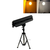 new 600w white led follow spot lights stage follow up light with stand and case
