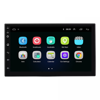 7 inch 2 Din Android Car DVD Player Auto Radio GPS BT Support Google Play