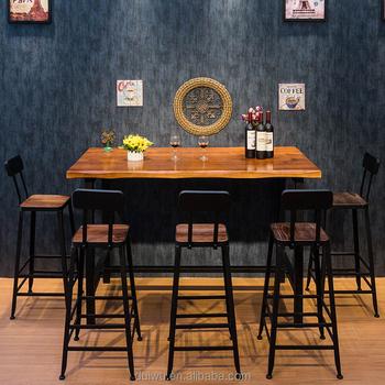 Foshan Shunde Cheap Industrial Iron Furniture Used Home Bar