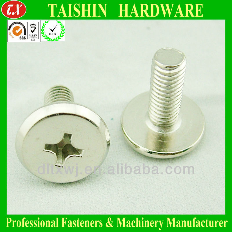 M6 Hex Socket Flat Chamfered Head Screws and Fittings for Furniture