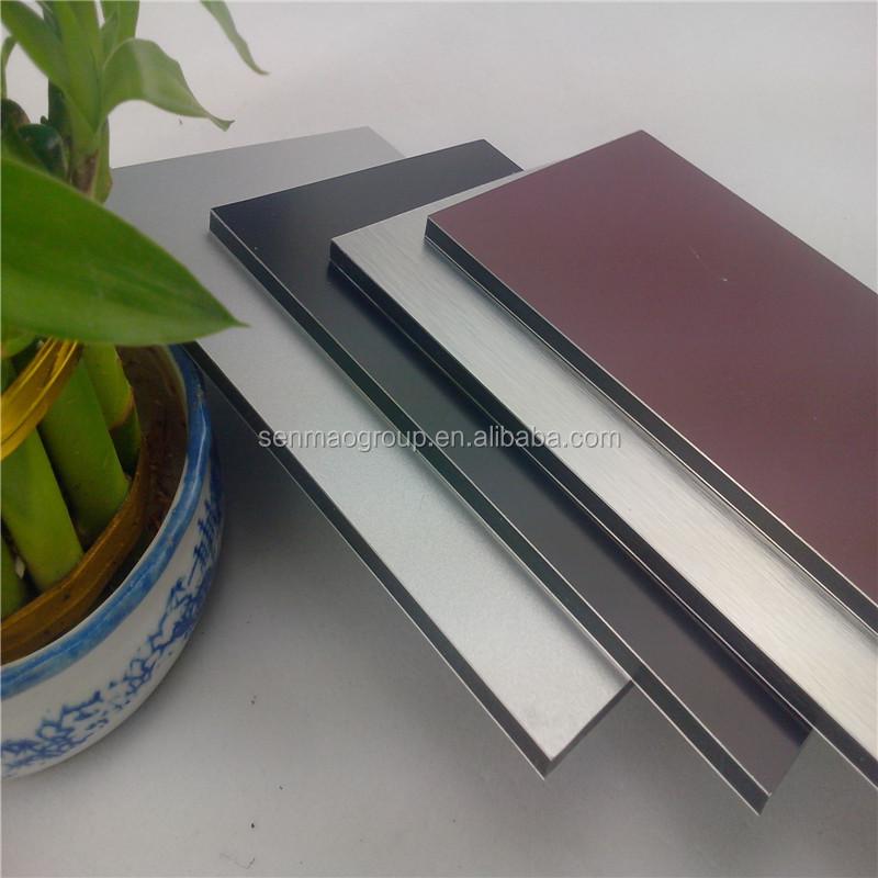 Panneau composite en aluminium fabrication pvdf peinture for Peinture revetement exterieur aluminium